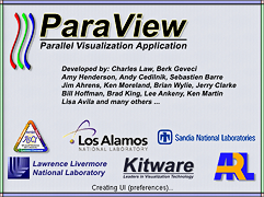 Paraview Splash Screen